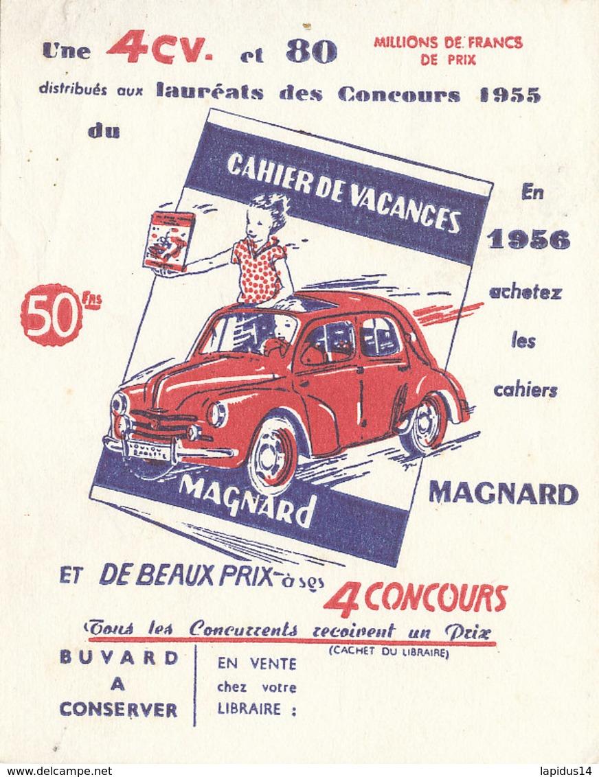 BU 1524 -/  BUVARD   CAHIER DE VACANCES  MAGNARD - Stationeries (flat Articles)
