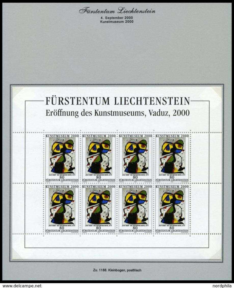 SAMMLUNGEN, LOTS **,Brief , Saubere Sammlung Liechtenstein Von 1996-2000, Jeweils **, Auf FDC`s (nur 1151 Fehlt) Und Auf - Liechtenstein