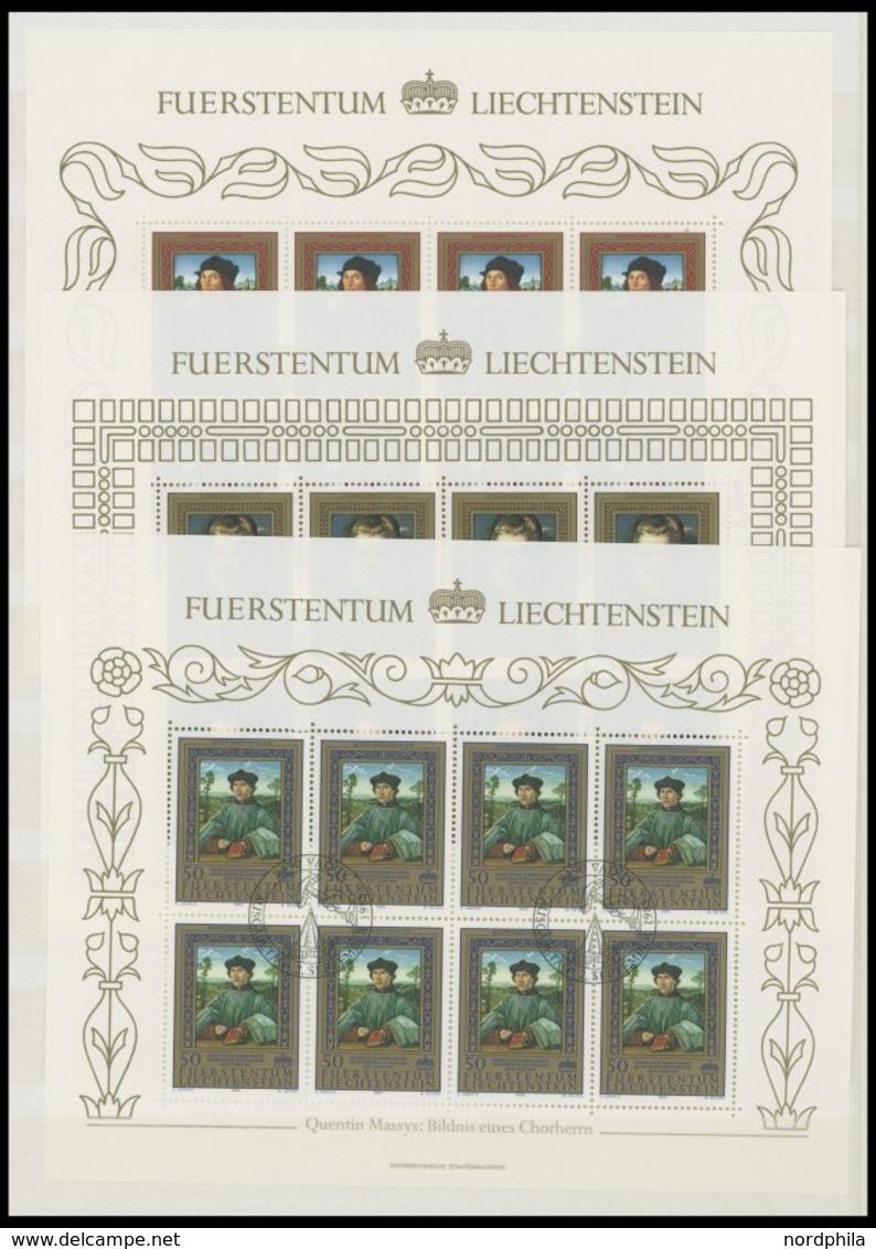 LOTS **,o,Brief , Dublettenpartie Liechtenstein Von 1969-88, Dabei Kleinbogen Und Einige FDC`s, Vieles Postfrisch Und Ge - Liechtenstein