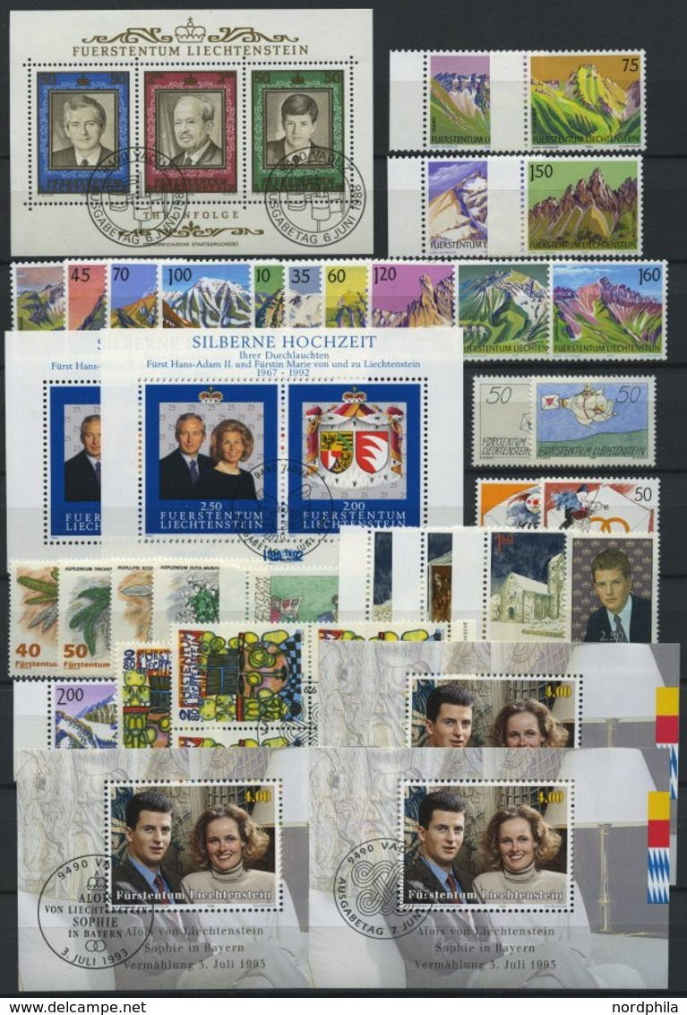 LOTS **,Brief,o , Interessanter Restposten Liechtenstein Von 1945-76 Mit 120 Fast Nur Verschiedenen Belegen, Prachterhal - Liechtenstein