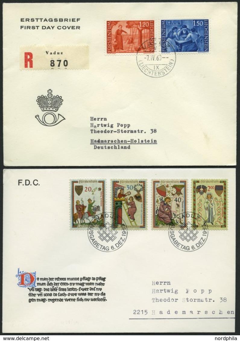 SAMMLUNGEN, LOTS 1959-78, Partie Von 48 Verschiedenen FDC, Fast Nur Prachterhaltung, Mi. 580.- - Liechtenstein