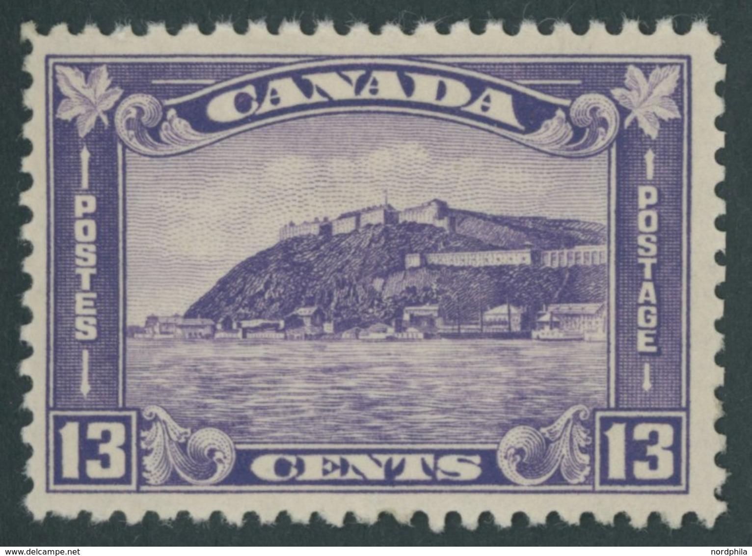 KANADA 168 **, 1932, 13 C. Zitadelle, Postfrisch, Pracht - Canada