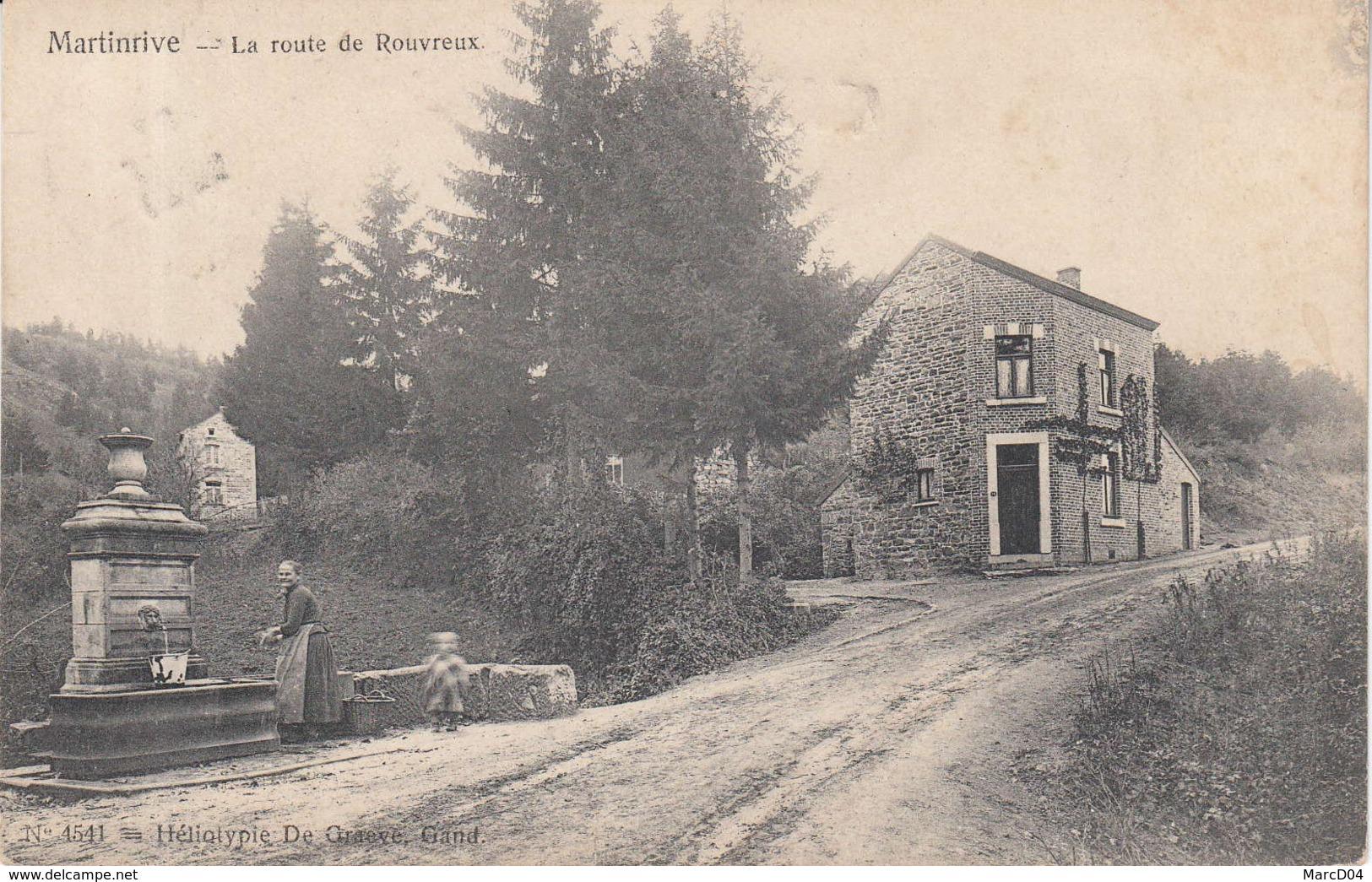 Aywaille:   La Route De Rouvreux - Aywaille