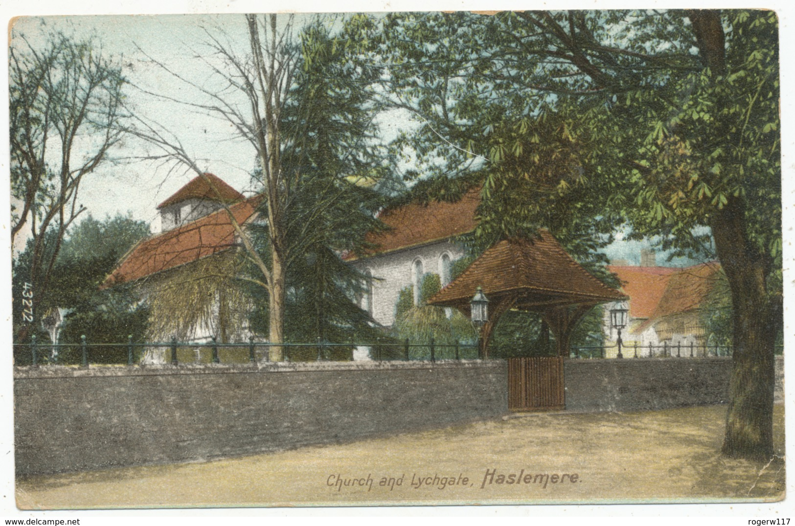 Church And Lychgate, Haslemere, 1905 Postcard - Surrey
