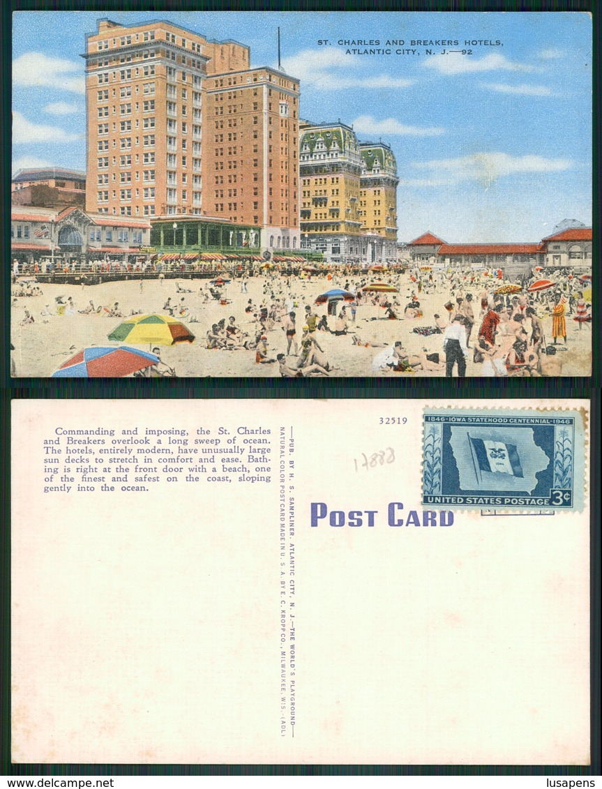 OF [17888 ] - USA - NEW JERSEY - ATLANTIC CITY HOTELS  CHARLES AND BREAKERS - Atlantic City