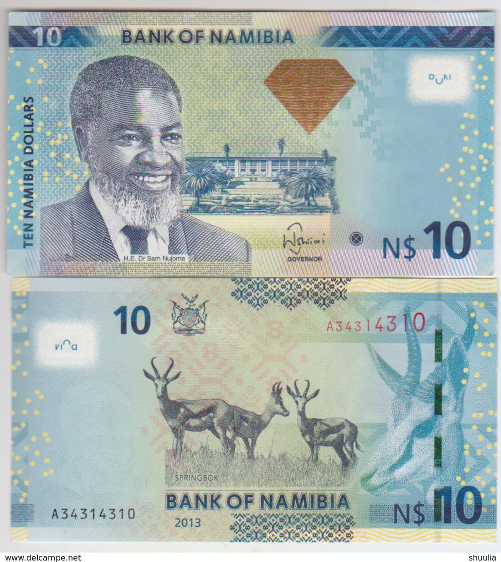 Namibia 10 Dollars 2012 Pick 11b UNC - Namibia