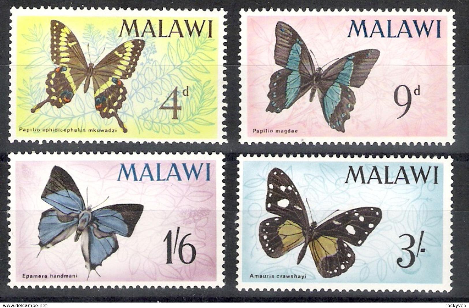 Malawi 1966 Butterflies MNH CV £6.55 - Butterflies