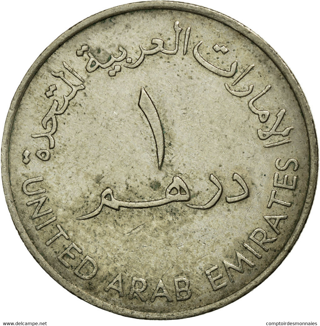 Monnaie, United Arab Emirates, Dirham, 1982/AH1402, British Royal Mint, TB+ - Emirats Arabes Unis