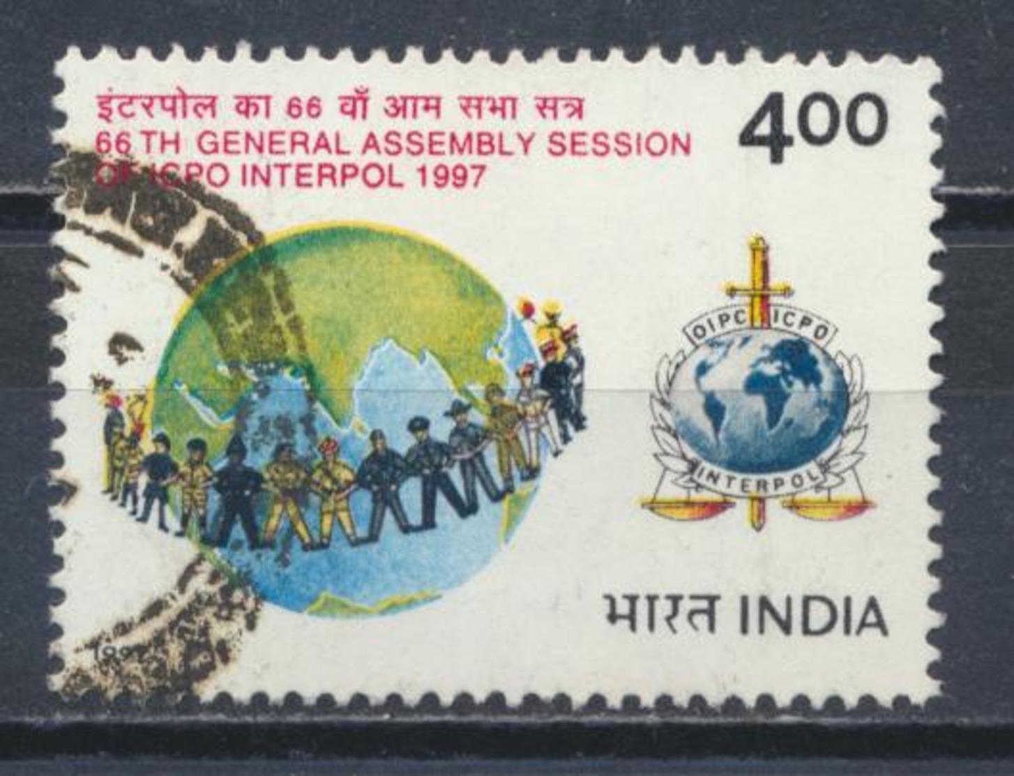 °°° INDIA 1997 - Y&T N°1354 °°° - Usados