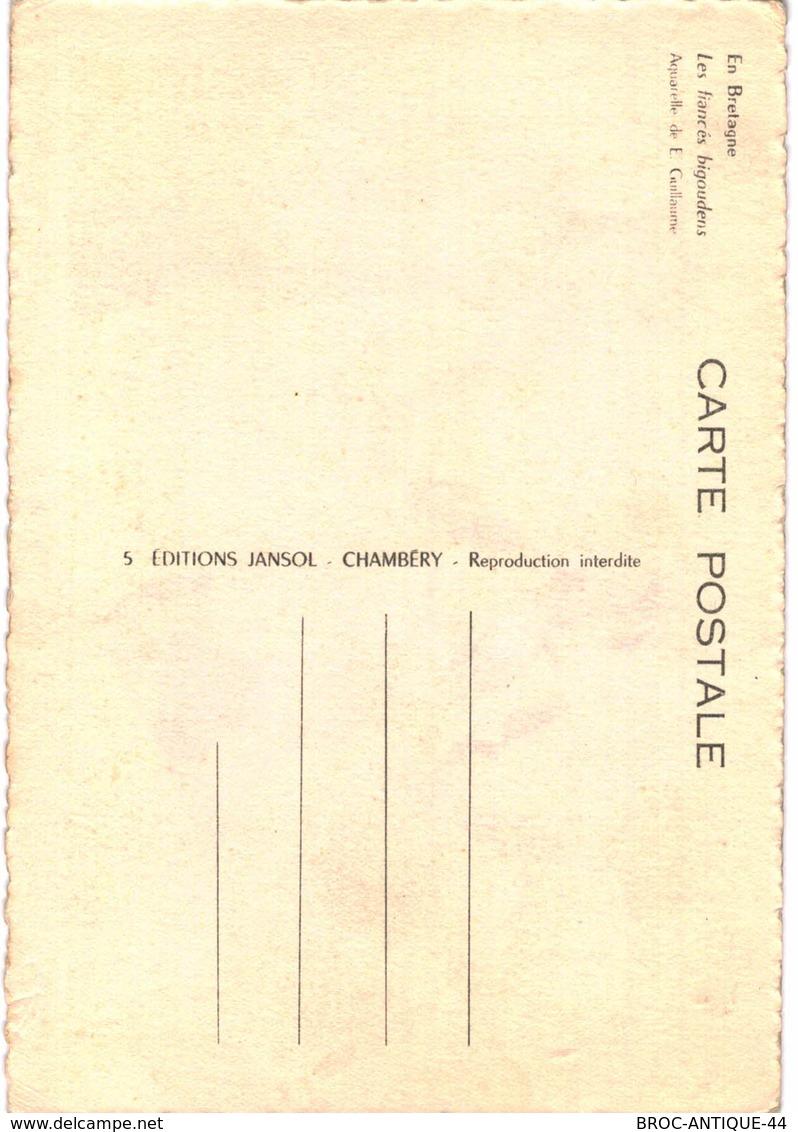 CPM* N°219 -  EN BRETAGNE - LES FIANCES BIGOUDENS - COSTUMES ET COIFFES - FOLKLORE - Bretagne