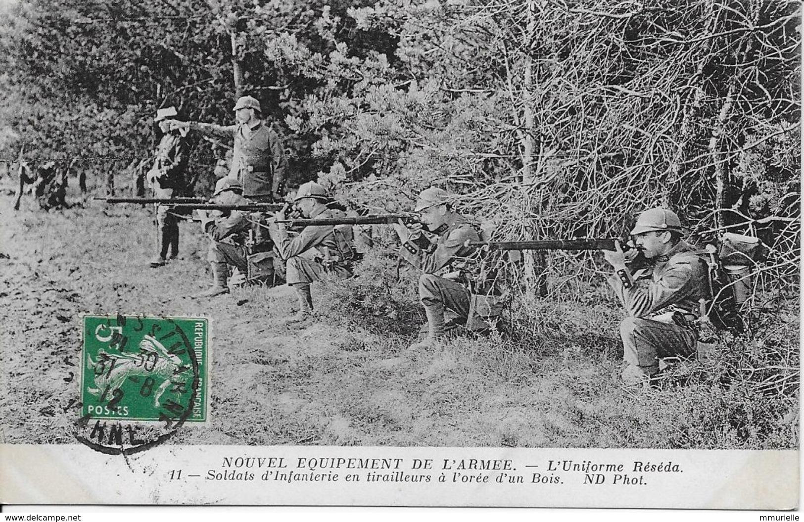 Nouvel Equipement De L'Armée L'Uniforme Réséda-MO - War 1939-45