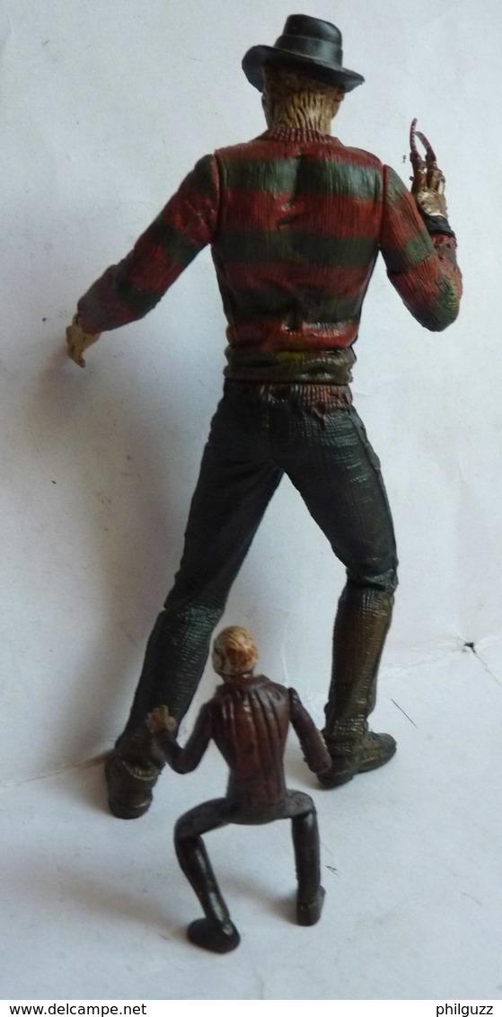 Rare FIGURINE MC FARLANE TOYS 2 Figurines FREDDY KRUEGER A NIGHTMARE ON ELM STREET 1998 - Figurines
