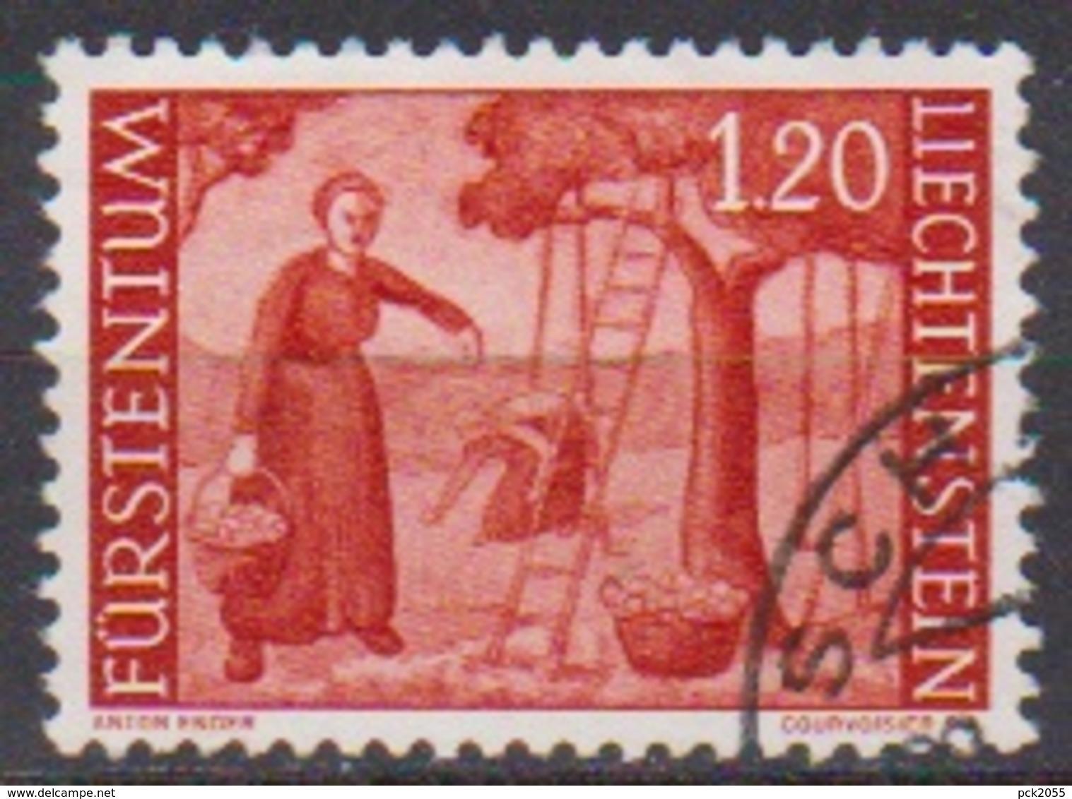 Lichtenstein 1960 MiNr.396 O Gest. Landschaften ( 8163 ) Günstige Versandkosten - Liechtenstein