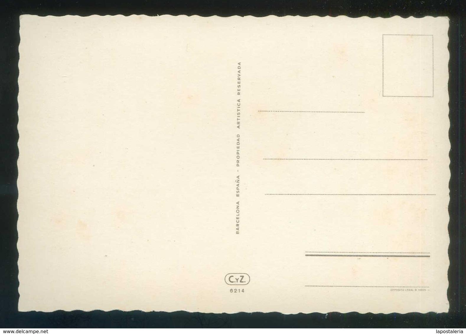 Ed. C. Y Z. Nº 6214. Nueva. - Flores, Plantas & Arboles
