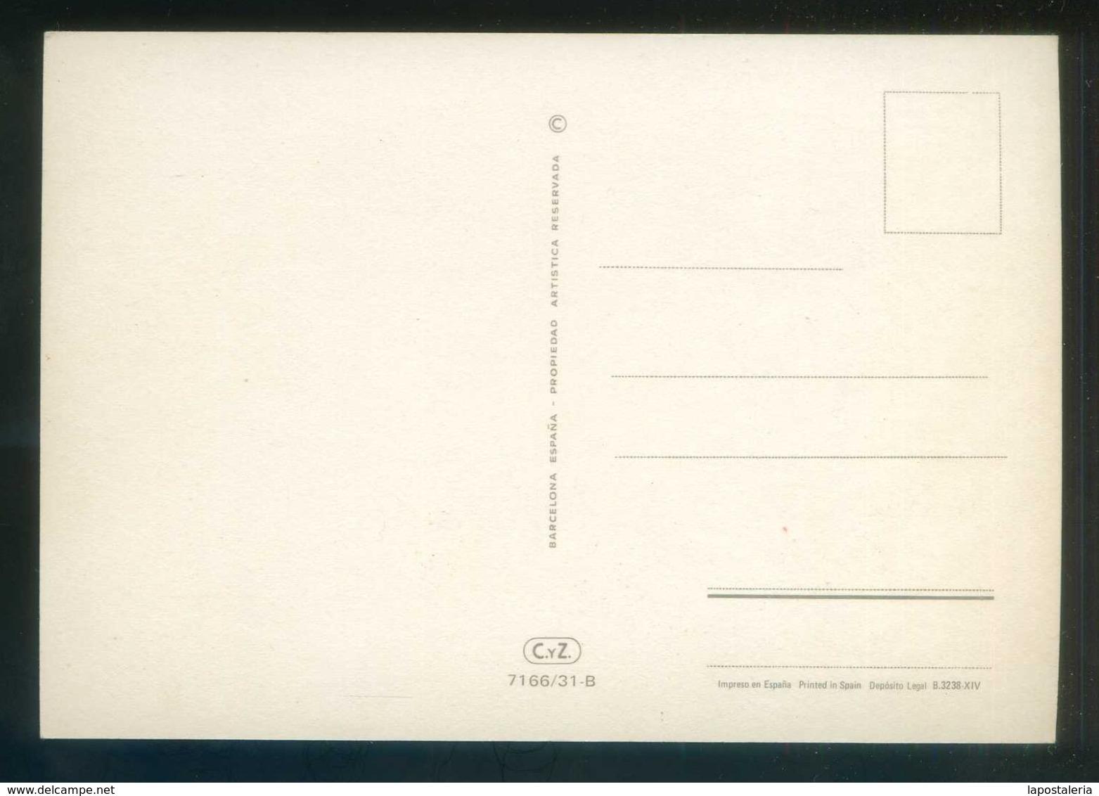Ed. C. Y Z. Nº 7166/31-B. Nueva. - Flores, Plantas & Arboles