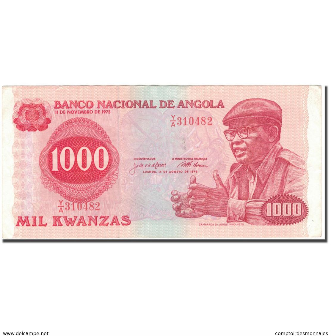 Billet, Angola, 1000 Kwanzas, 1979-08-14, KM:117a, TTB - Angola