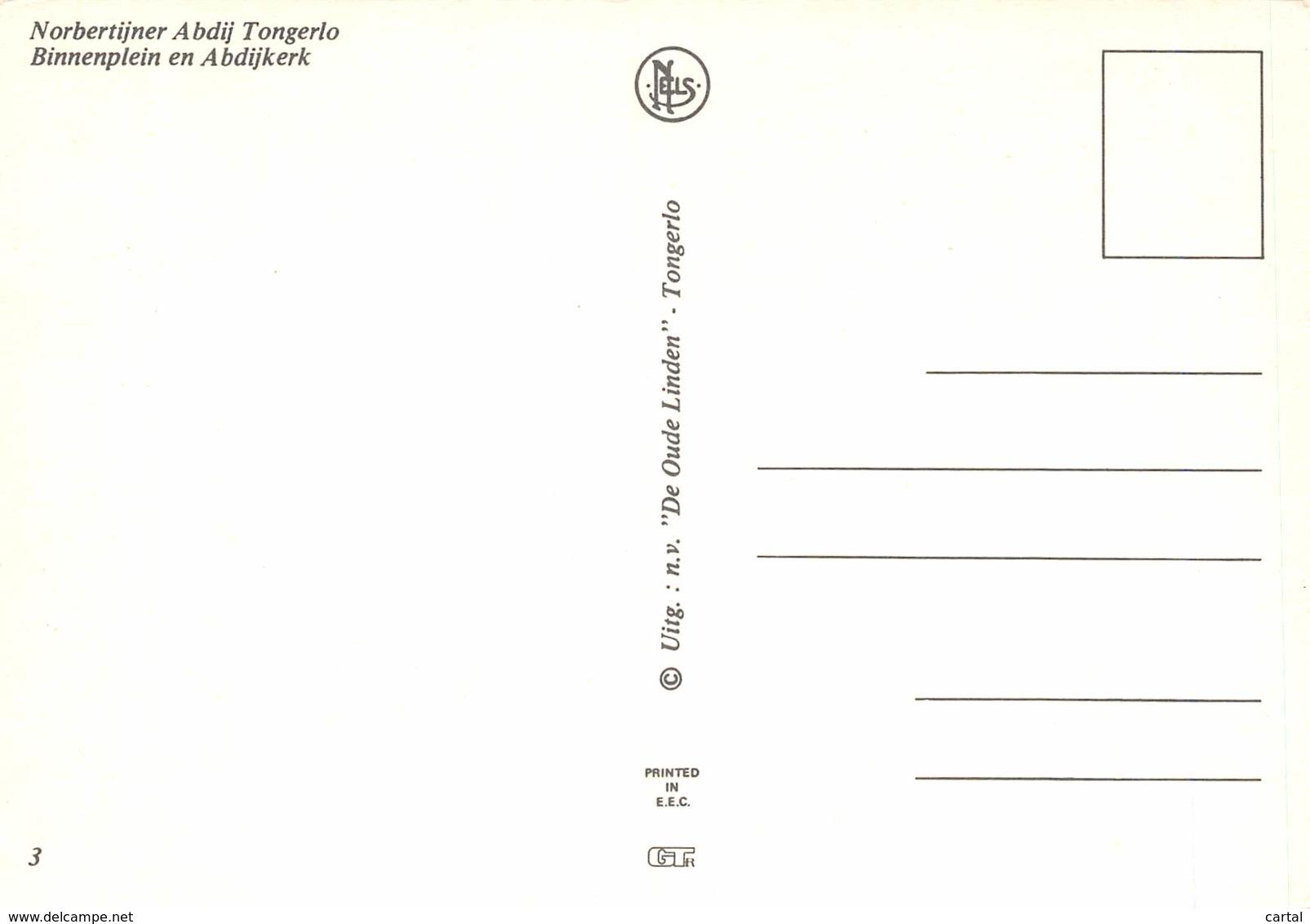 CPM - Norbertijner Abdij TONGERLO - Binnenplein En Abdijkerk - Westerlo