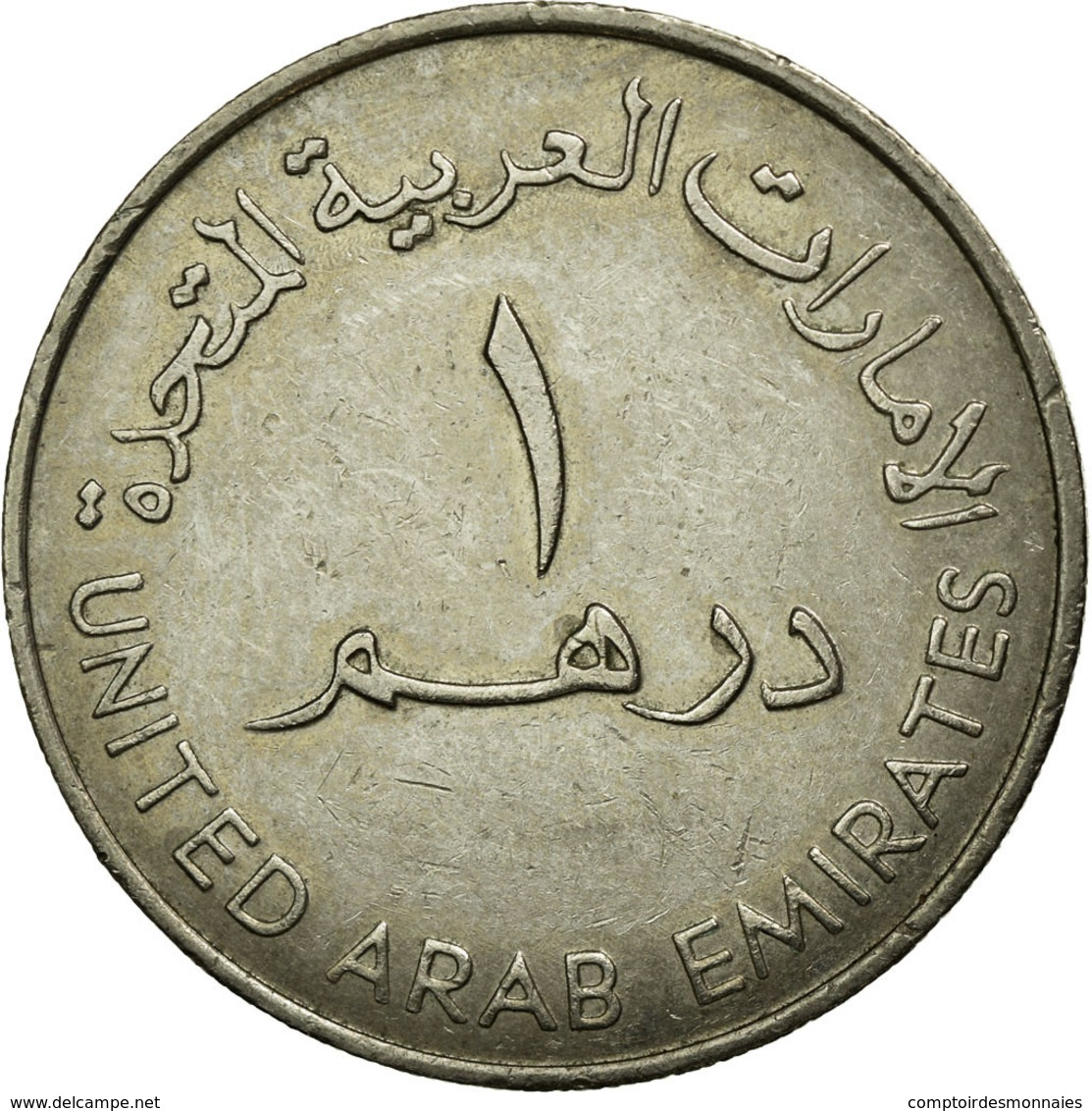Monnaie, United Arab Emirates, Dirham, 1982/AH1402, British Royal Mint, TTB - Emirats Arabes Unis