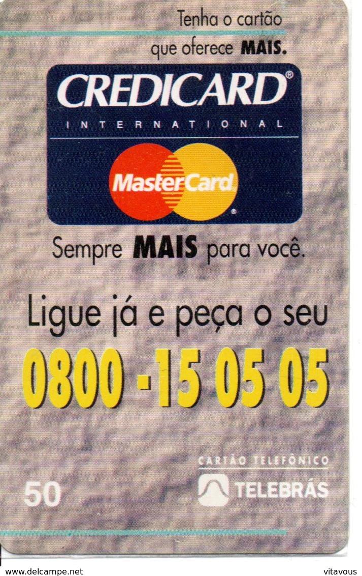 Télécarte Credicard MarterCard Bank Banque   Phonecard  (G 641) - Brésil