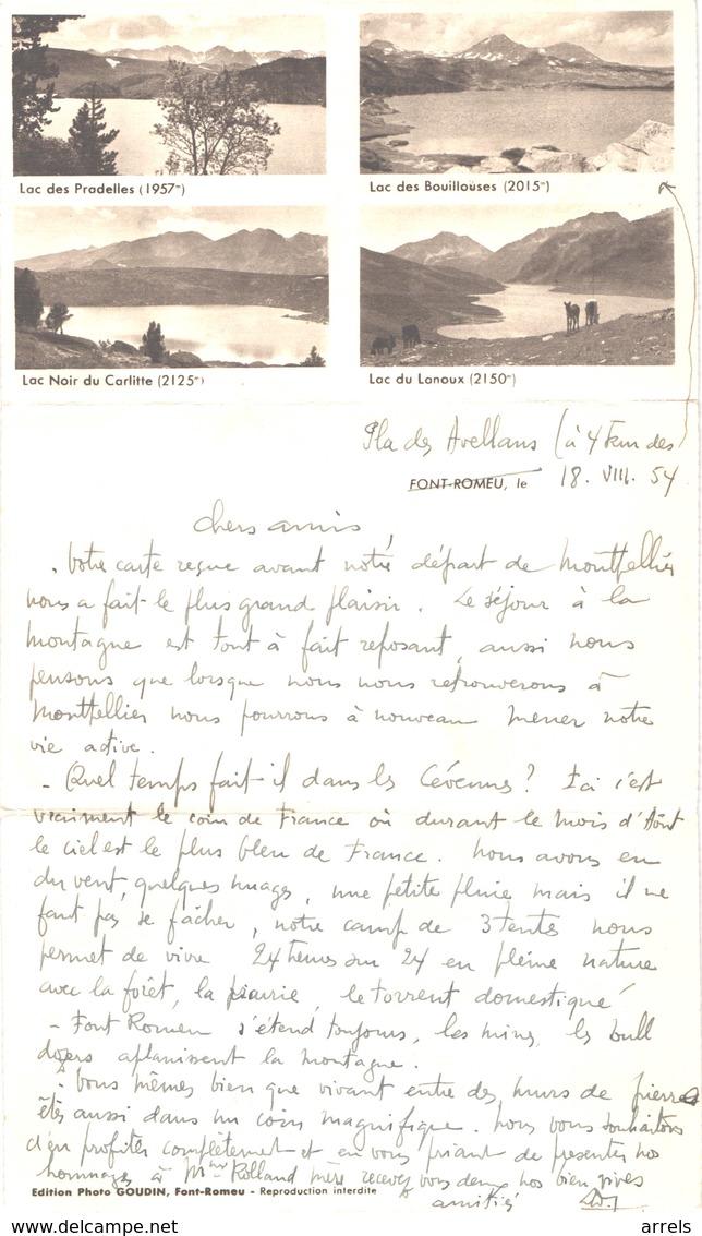 FR66 FONT ROMEU - Tryptique - Voir Scans - Belle - Autres Communes