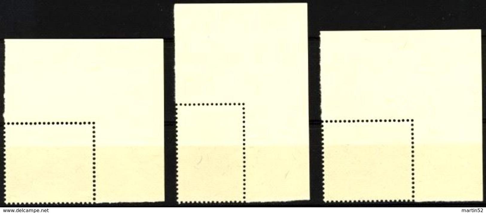 Liechtenstein 1954: Gemäldeserie V (Provisorien) Zu 270-272 Mi 326-328 Yv 288-290 ** Postfrisch MNH (Zu CHF 40.00) - Liechtenstein