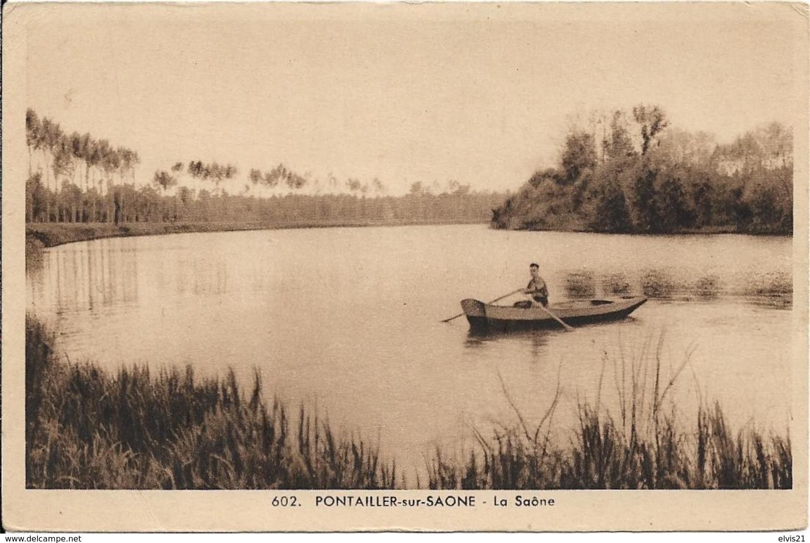 PONTAILLER SUR SAONE La Saône - Autres Communes