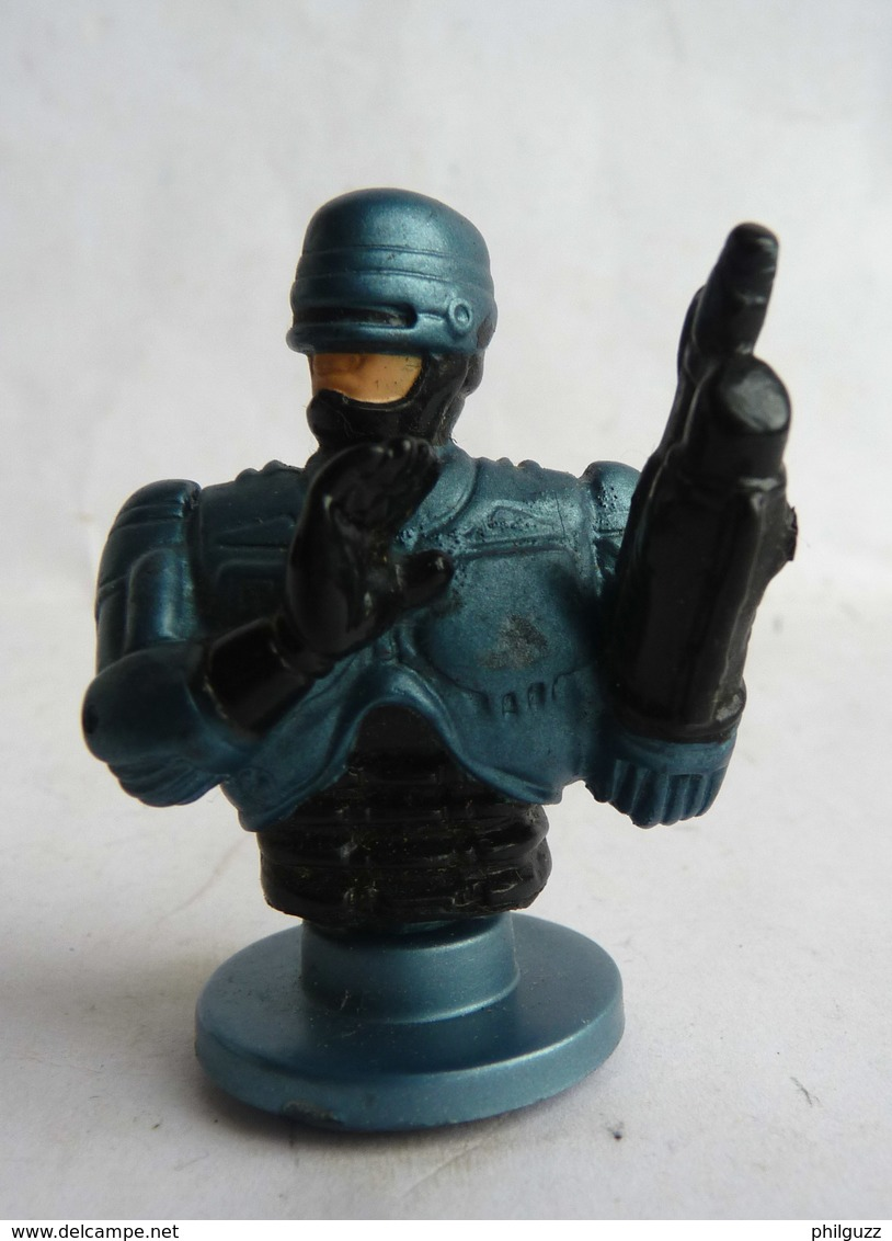 FIGURINE TAMPON DORDA TOYS 1987 BUSTE ROBOCOP (1) - Figurines