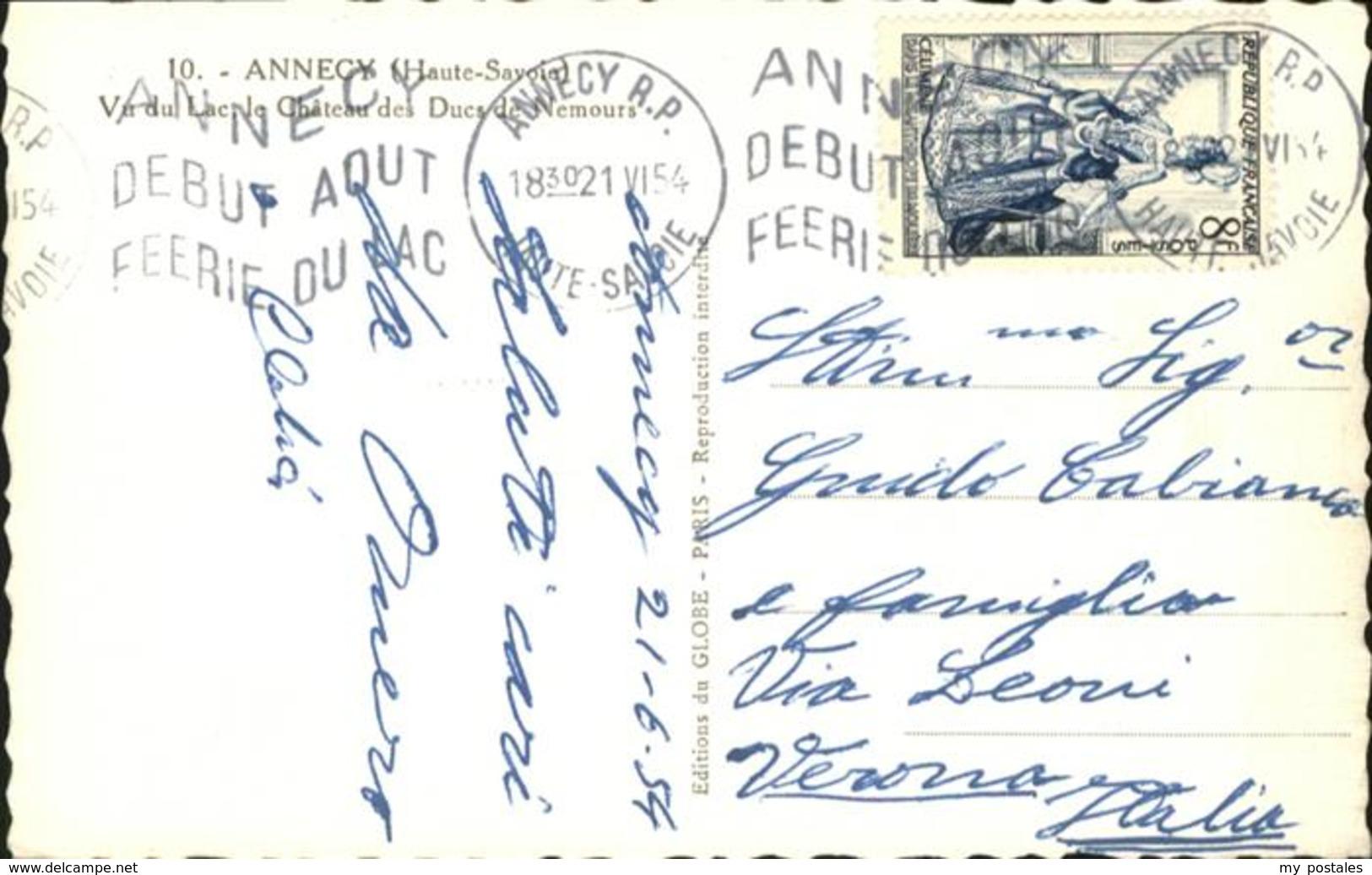 60825275 Annecy Haute-Savoie Chateau / Annecy /Arrond. D Annecy - Non Classés