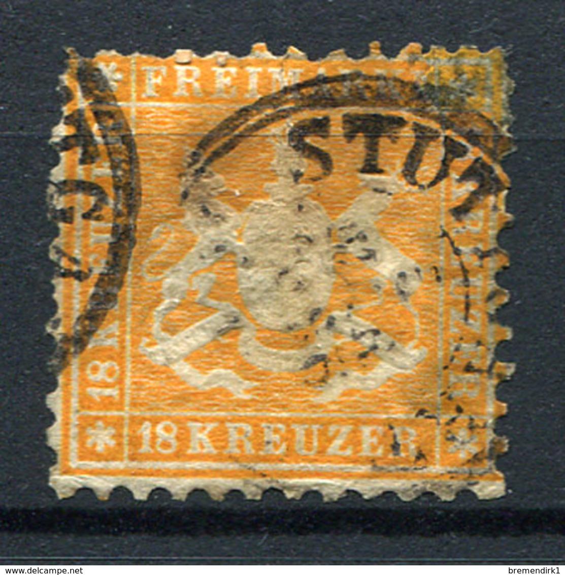 G26) WÜRTTEMBERG - Lot Gestempelt, Postfrisch, Gefalzt - Wurtemberg