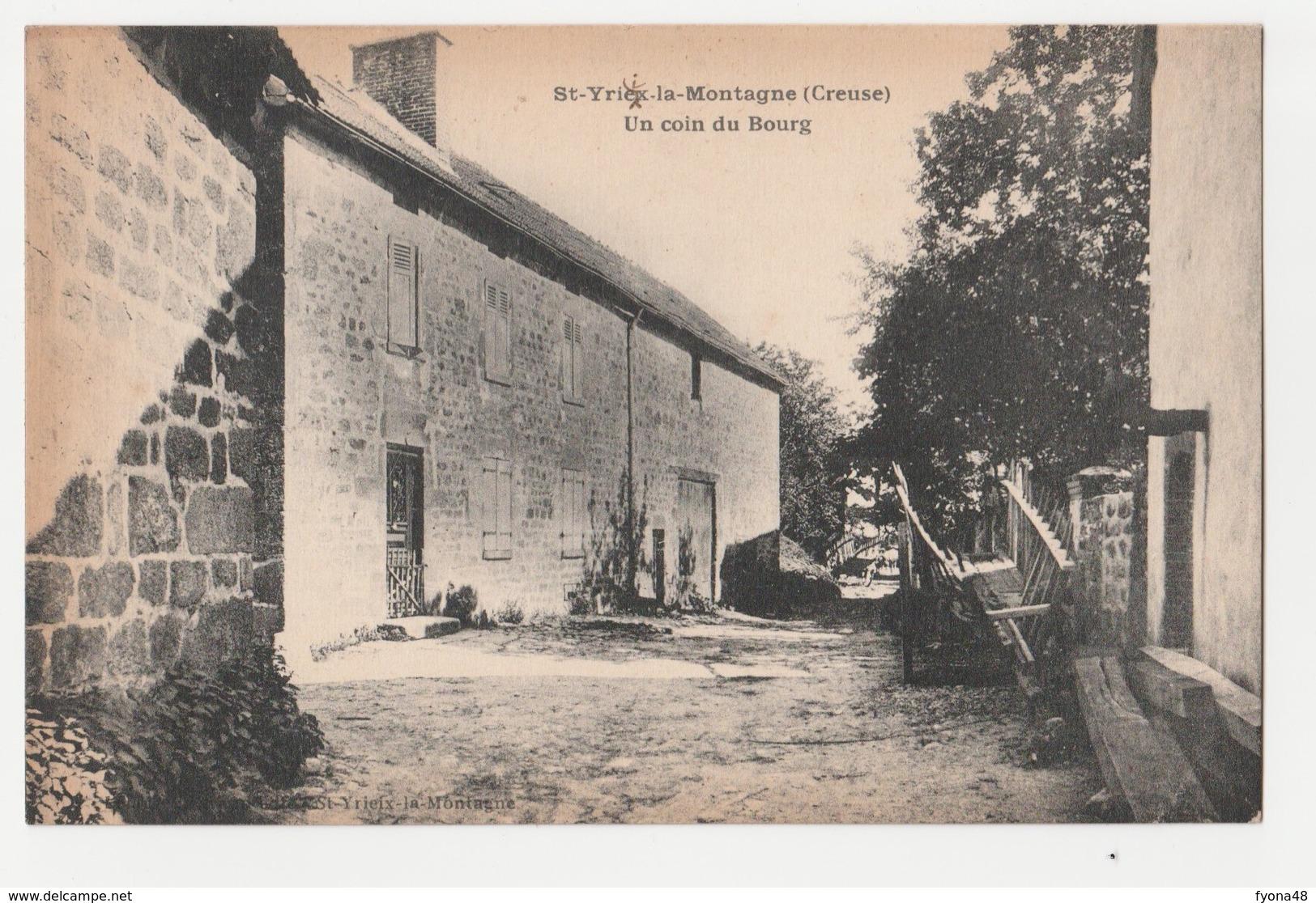 179 - SAINT-YRIEIX-LA-MONTAGNE - Un Coin Du Bourg - France