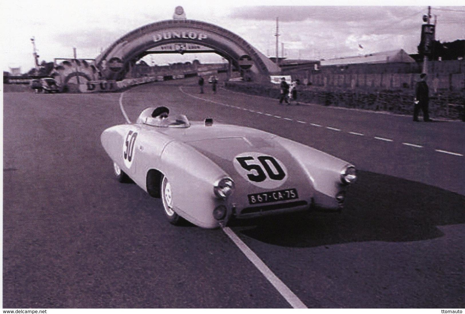 24 Heures Du Mans 1953 - DB Panhard X89 1100cm -  Pilotes: Charles Plantivaux/Guy Lapchin (F)  -  15x10cm PHOTO - Le Mans