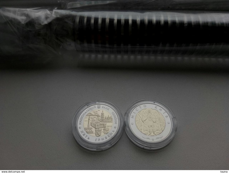 2018 Ukraine Coin 5 UAH CITY KYIV Bi-Metallic NEW! - Ukraine