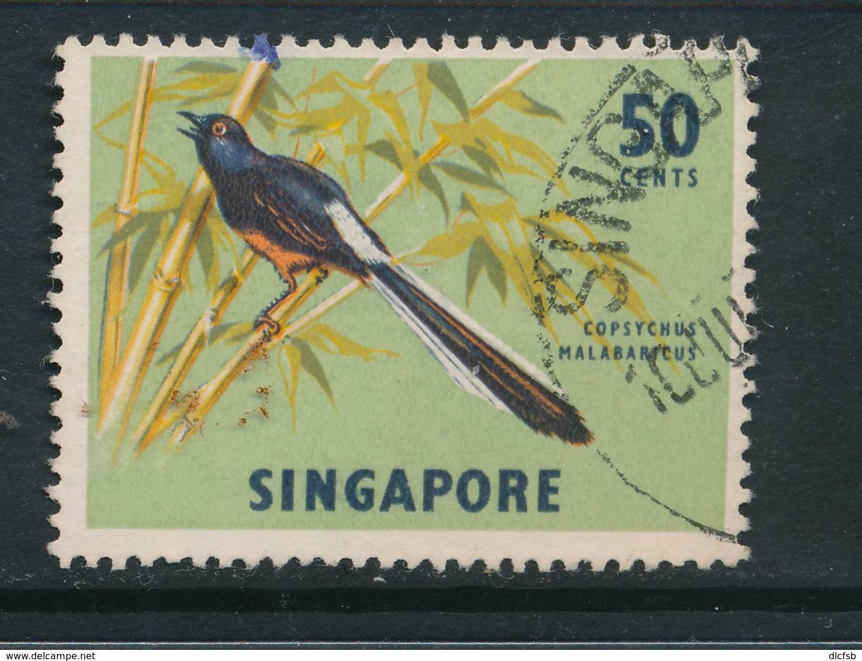 SINGAPORE, 1966 50c Wmk Sideways Fine Used - Singapore (1959-...)