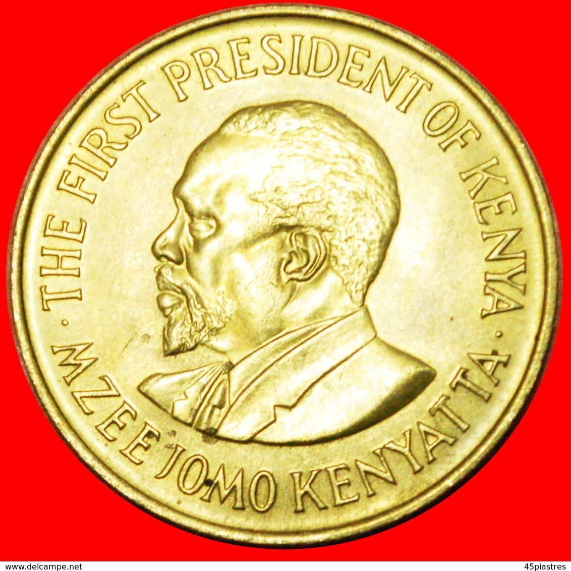 # WITH LEGEND (1969-1978): KENYA ★ 10 CENTS 1978 UNC MINT LUSTER! LOW START ★ NO RESERVE! - Kenya