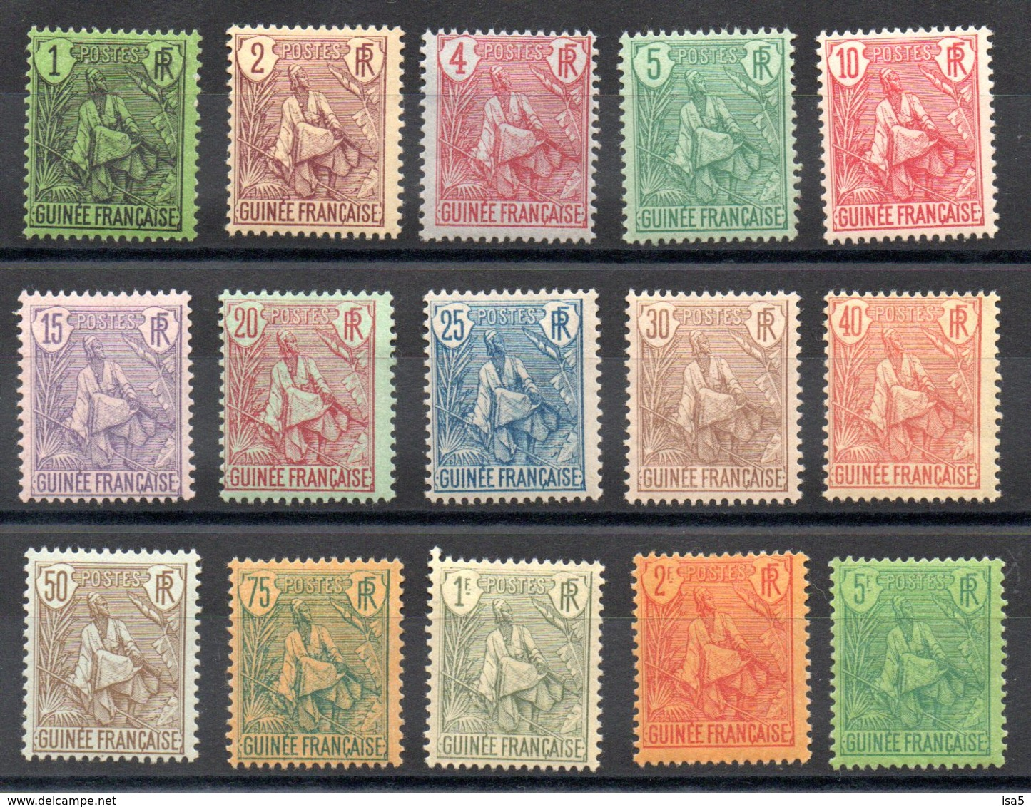 GUINEE - YT N° 18 à 32 - Neufs * - MH - Cote 463,00 € - French Guinea (1892-1944)