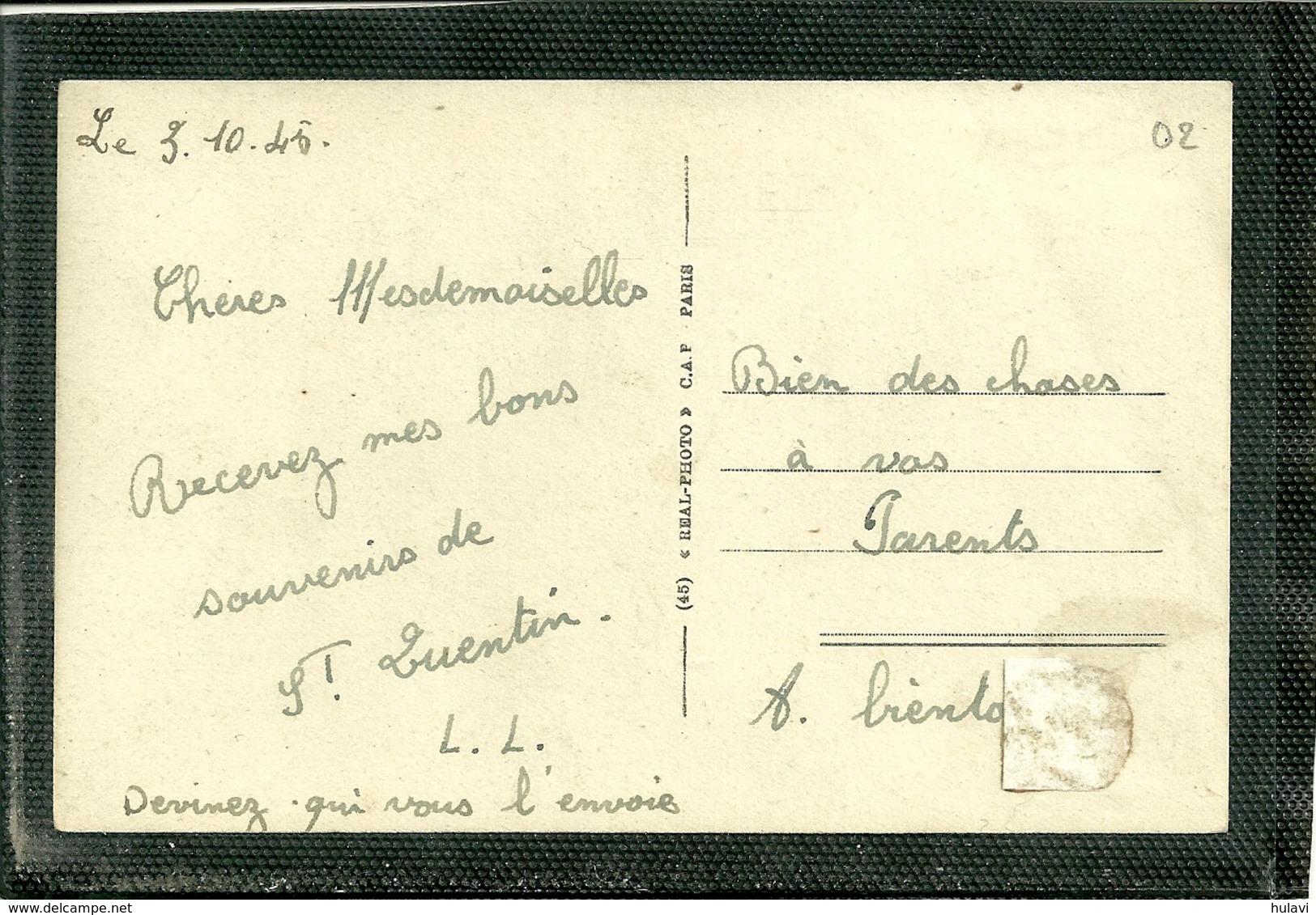 02  SAINT QUENTIN - L' ENTREE DE LA PLAGE (ref 3758) - Saint Quentin