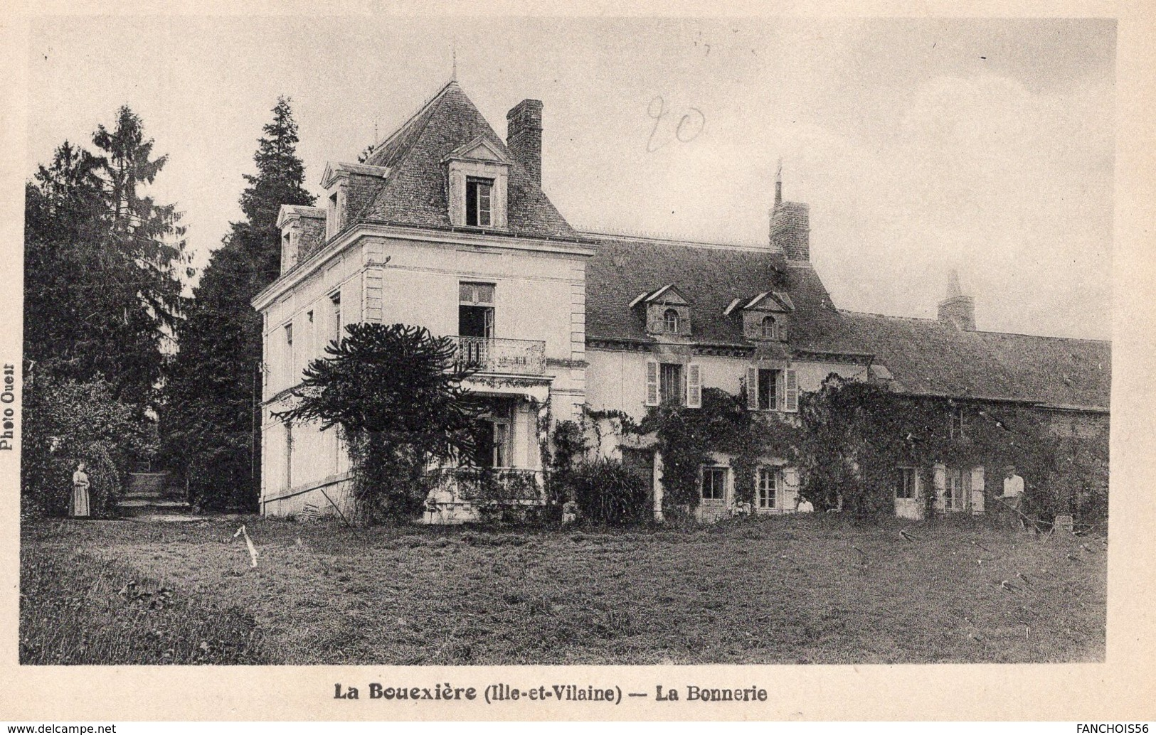 La Boixière (35) - La Bonnerie - Autres Communes