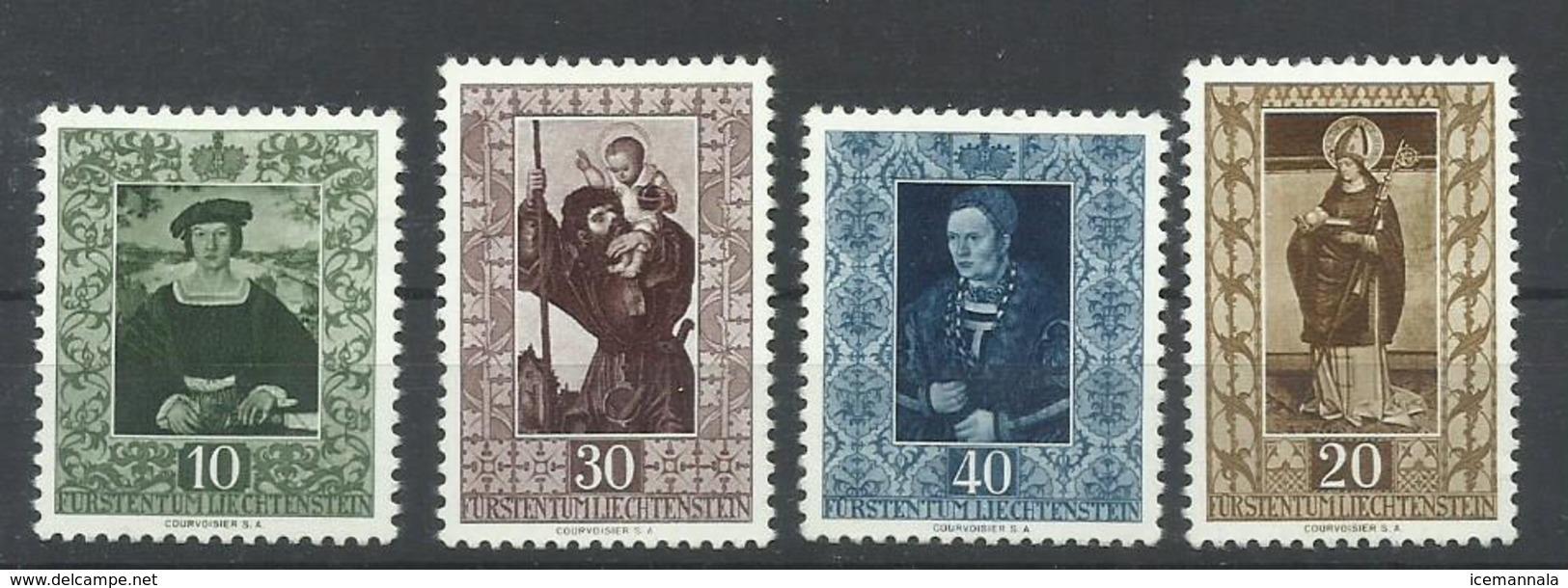LIECHTENSTEIN  YVERT  273/76   MH  * - Liechtenstein