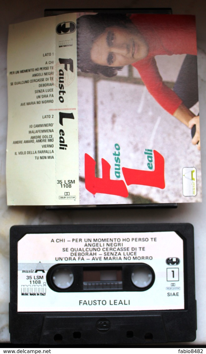 MC MUSICASSETTA FAUSTO LEALI CGD MUSICA MMI 35 LSM 1108 - Cassettes Audio