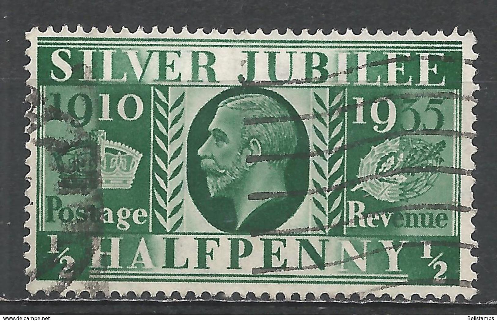 Great Britain 1935. Scott #226 (U) King George V, Silver Jubilee * - 1902-1951 (Rois)
