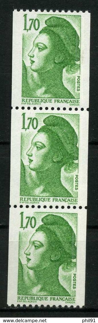 FRANCE    Liberté   Bande De 3     N° Y&T  2321  ** - 1982-90 Vrijheid Van Gandon