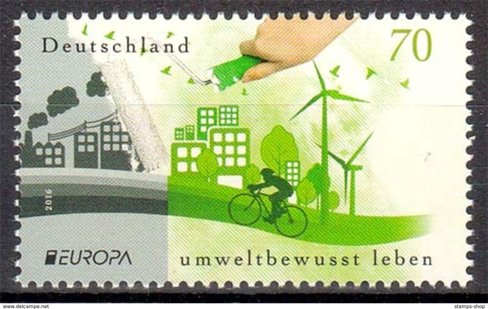 Bund MiNr. 3238 ** Europa: Umweltbewusst Leben - [7] Repubblica Federale