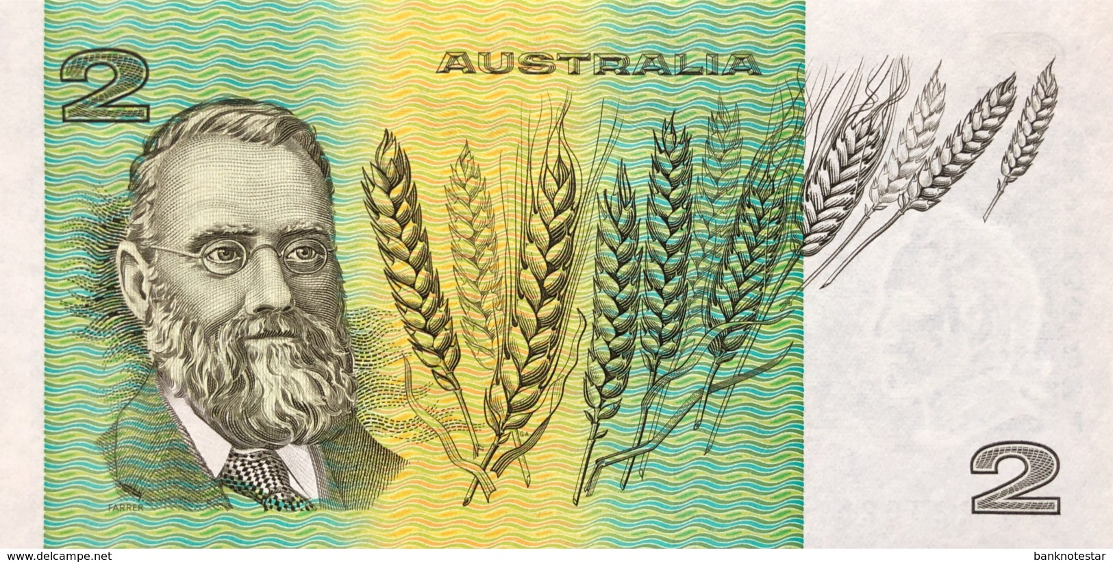 Australia 2 Dollar, P-43e (1985) - UNC - 1974-94 Australia Reserve Bank (paper Notes)