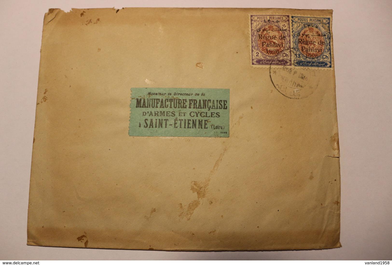 Lettre De TURQUIE-  Voyagée  St Etienne - 1921-... République