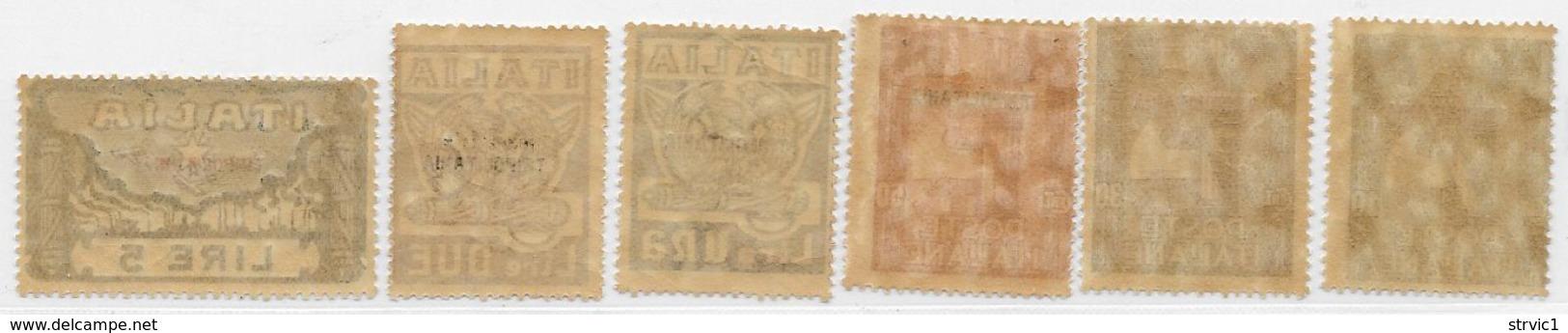 Tripolitania, Scott # 5-10 MNH Italy Fascisti Issue,overprinted,1923, CV$225.00 - Tripolitania