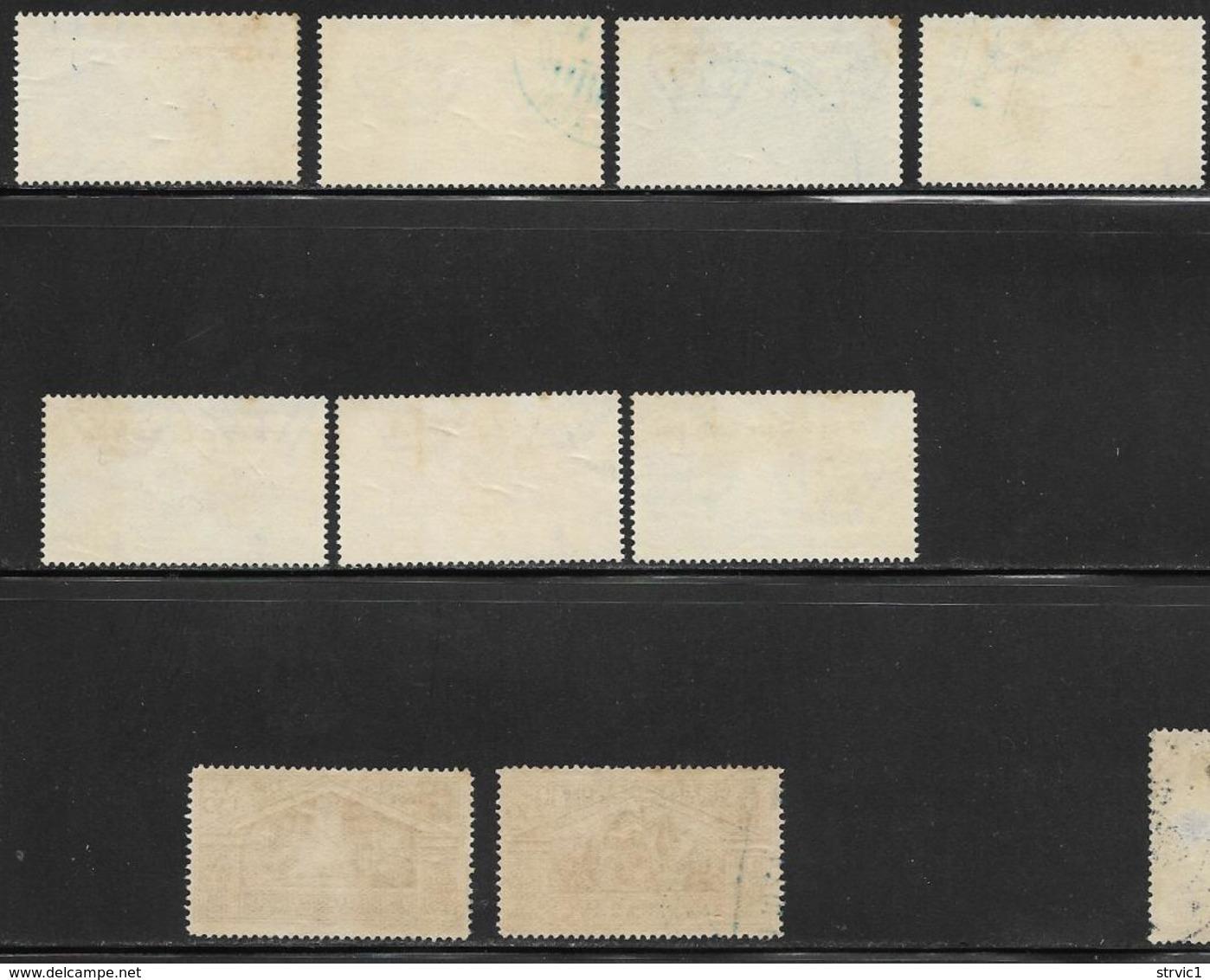 Tripolitania, Scott # 43-51 Used Italy Virgil Issue Overprinted, 1930, CV$162.50 - Tripolitania
