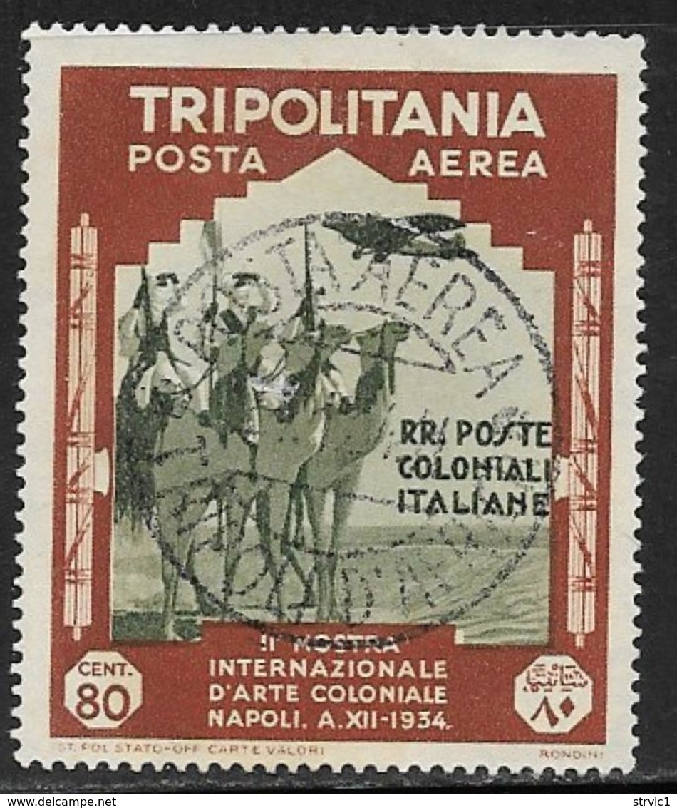 Tripolitania, Scott # C46 Used Camel Corps, 1934 - Tripolitania