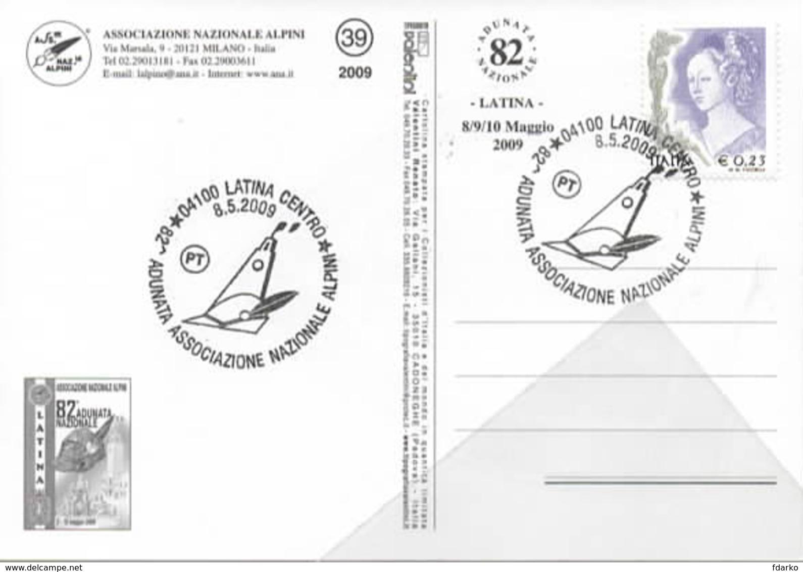 Brigata Alpina Cadore Adunata Nazionale Alpini Latina Lazio 8-5-2009 ANA - Manovre