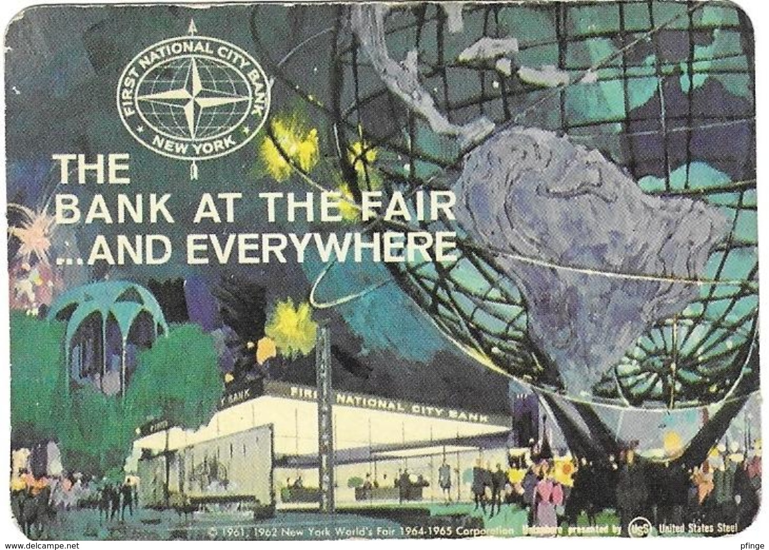 First National City Bank -  Calendrier 1964 - Calendriers