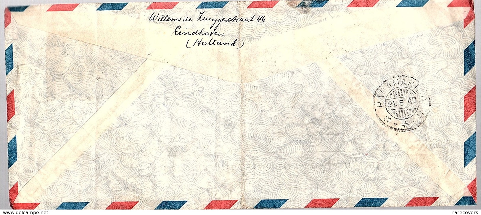 1949 1st Flight Amsterdam > Paramaribo (LA20-6) - Suriname ... - 1975
